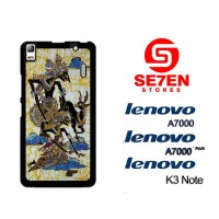 Casing HP Lenovo A7000, A7000 Plus, K3 Note wayang Custom Hardcase