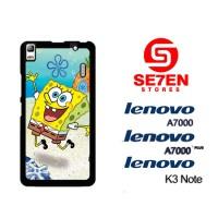 Casing HP Lenovo A7000, A7000 Plus, K3 Note SpongeBob 2 Custom Hardcas