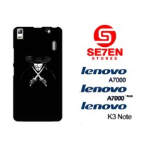 Casing HP Lenovo A7000, A7000 Plus, K3 Note V For Vendetta Custom Hard