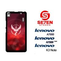 Casing HP Lenovo A7000, A7000 Plus, K3 Note team instinct red Custom H