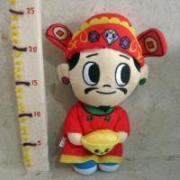 Boneka Dewa Emas Cai Shen Ye Doll Original Singapore Tokidoki
