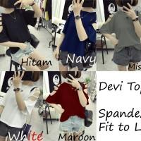 Pakaian Wanita Devy Top - Atasan - Baju Polos - Blouse - Sabrina
