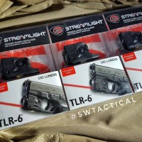 Streamlight TLR-6® TACTICAL LIGHT WITH INTEGRATED RED AIMING LASER