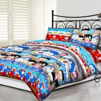 Tommony Bed Cover Double - Doraemon