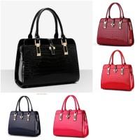 Hand Bag Tas Fashion Wanita Glossy #tas wanita 03560