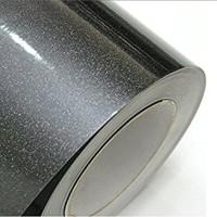 wallpaper sticker premium glossy metalic hitam