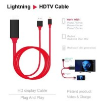 KABEL MHL LIGHTNING TO HDMI DIGITAL AV TV LCD APPLE IPHONE IPAD MINI
