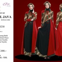 Gamis Pesta Esme Fashion THE SECRET of CENTRAL JAVA E-050230 - Batik