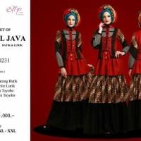 Gamis Pesta Esme Fashion THE SECRET of CENTRAL JAVA E-050231 - Batik
