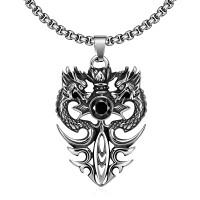 Gmyn045 Titanium Fashion Vintage Pendant Necklace Aksesoris Kalung