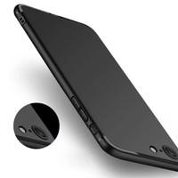 Jual soft case casing matte black iphone 6/6s/6+/6s plus/7/7 plus (hitam) Murah