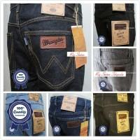 Jual Celana Jeans Wrangler Pria / Cowok Model Standar Keren Murah Keren Murah