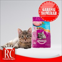 Makanan Kucing / Cat Food Whiskas Ocean Fish 480 Gram