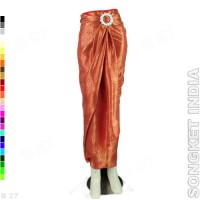 harga Rok Lilit Batik R1-25 Bahan Songket India - Merah Cabe Tokopedia.com