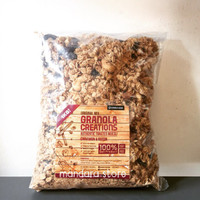 Jual Granola Creation Cinnamon & Raisin (Original Mix) 1kg Murah
