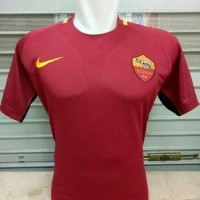 JERSEY BOLA AS ROMA HOME OFFICIAL 17/18 GRADE ORI