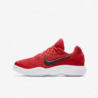 Sepatu Basket Anak Nike Hyperdunk 2017 Low GS Red Original 918362-600