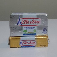 Butter Unsalted 60% Elle&vire 200g