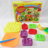 Jual fundoh sushi set/fun doh sushi set/playdoh sushi/ play doh sushi Murah