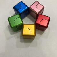Jual Fidget Spinner Cube(Aluminium Alloy) Murah
