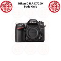 Kamera Nikon D7200 Body Only, Camera Nikon D 7200 BO, Crop Factor 24MP