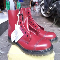 Solovair 551 Derby Boot Cherry Red