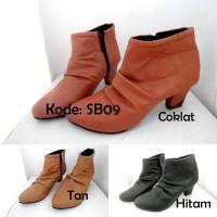 Jual Jual Boots Heels Wanita SB09 Murah