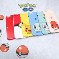 pokemon hardcase doff for iphone 4-6+ dan samsung j5, grand prime,2,+