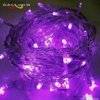 Jual Lampu LED natal / lampu natal /warna ungu + colokan sambungan Murah