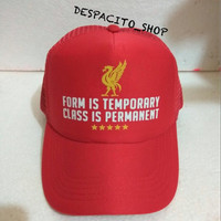 LIVERPOOL FOOTBALL TRUCKER HAT / TOPI JARING - DESPACITO SNAPBACK SHOP