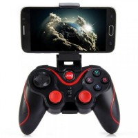 Game Controller Stick Gen New S3 Bluetooth Gamepad + Clip Bracket Hold