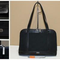 Tas  branded BALENCIAGA BC95 Alma style black jacquard second original
