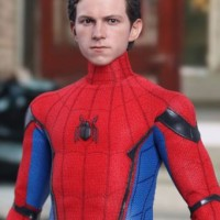 SPIDER-MAN Homecoming (Tom Holland Sculpt) Hot Toys 1/6 Figure UK SHIP