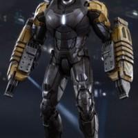 Hot Toys MMS277 1/6 Iron Man 3 MARK XXV 25 Striker Action Figure