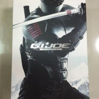 Hot Toys MMS 192 G.I. Joe Retaliation Snake Eyes Military Ninja Figure