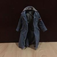 1/6 Hot Toys MMS100 Terminator Salvation Marcus Wright long coat jacke