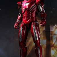 Hot Toys MMS213 1/6 Iron Man 3 Mark 33 XXXIII Silver Centurion Normal