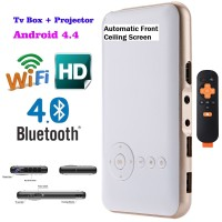 Mini GO Android Pocket Pico DLP Projector MD50S, Super Canggih