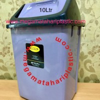 Tempat Sampah 10 Ltr (Tutup Goyang)