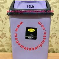 Tempat Sampah 15 Ltr (Tutup Goyang)