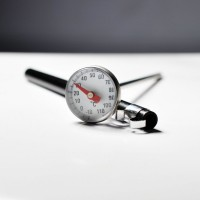 Jual Thermometer Pocket - Termometer Kopi Susu - Analog 25mm - Frothing Murah