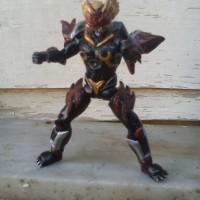 Jual action figure custom mainan osiris satria garuda bima-x (shf scale) Murah