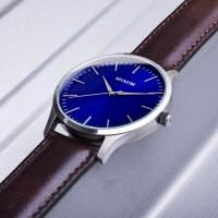 Jam Tangan MVMT 40 Series Blue/Brown Leather Original  Jam Tangan Pria