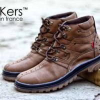 Jual sepatu boots safety kickers monster original premium 3 warna 39-44  Murah 8400ef3084
