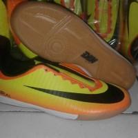 sepatu futsal nike mercurial x kuning orange