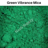 Mica Powder Green Vibrance