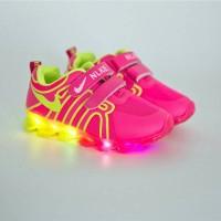 Jual sepatu nike lampu led import keren Murah