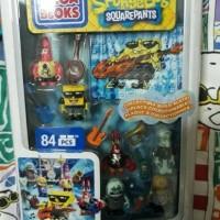 Mega Bloks - Spongebob Square Pants - Rock Band Figure Pack