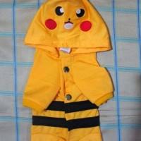 Jual baju kucing / baju anjing model pokemon / pikachu Murah