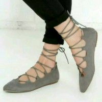 Flatshoes Balerina Abu